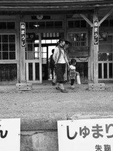 2015年第10回ほろかないフォトコンテスト:奨励賞 「一日だけの駅(組写真2/5)」木下 裕貴(遠軽町)