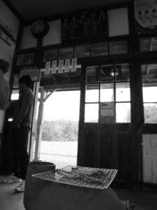2015年第10回ほろかないフォトコンテスト:奨励賞 「一日だけの駅(組写真3/5)」木下 裕貴(遠軽町)