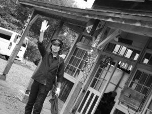 2015年第10回ほろかないフォトコンテスト:奨励賞 「一日だけの駅(組写真5/5)」木下 裕貴(遠軽町)